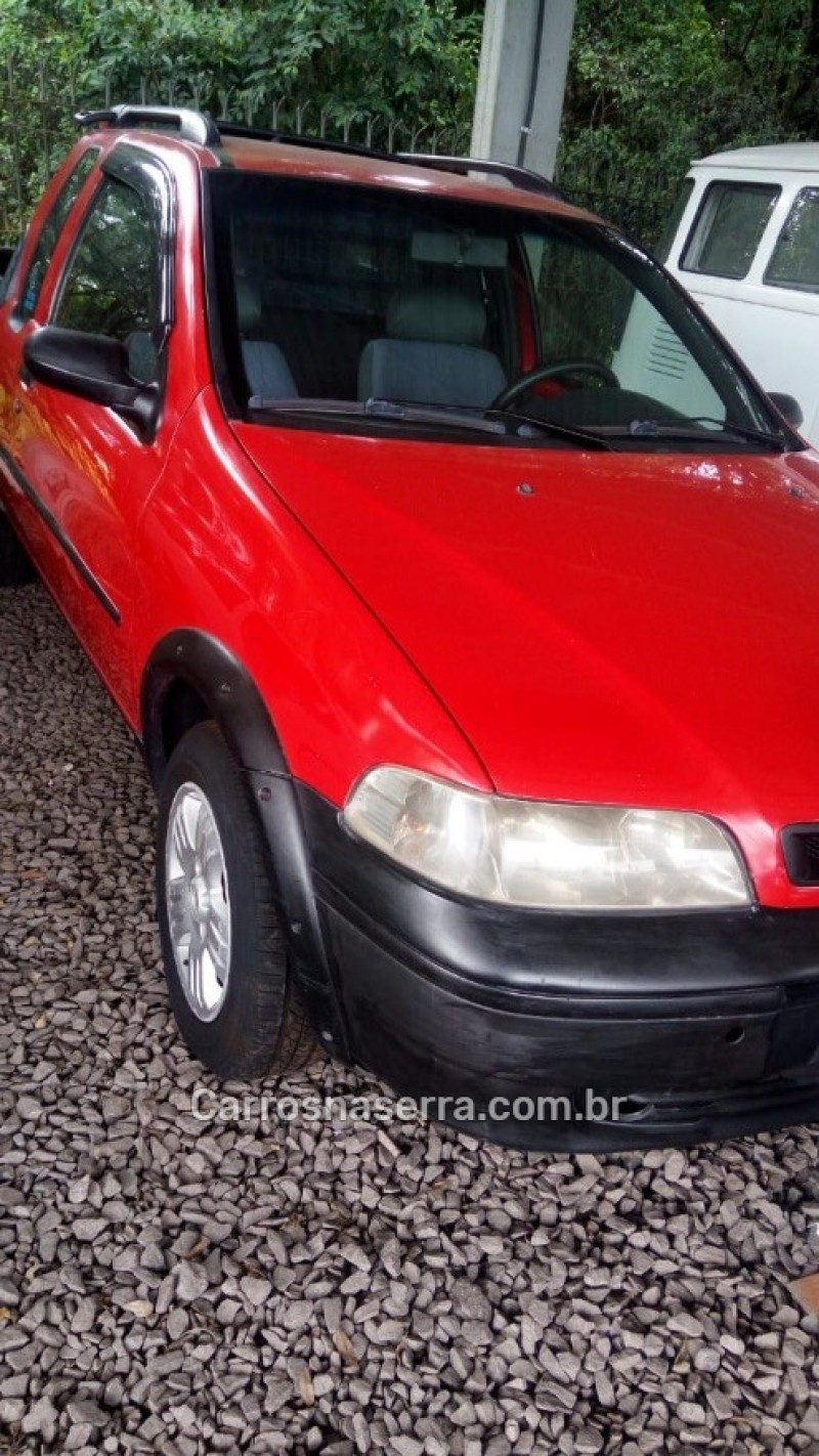 strada 1.3 mpi fire ce 8v gasolina 2p manual 2002 caxias do sul