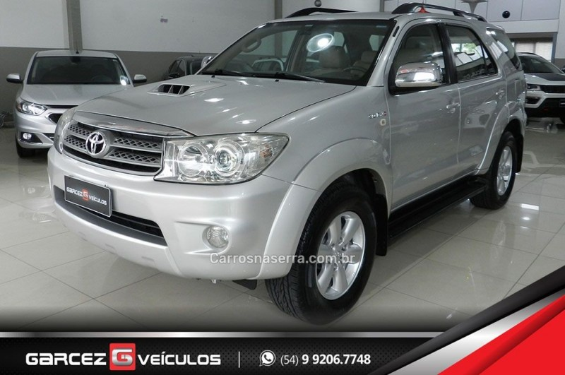 hilux sw4 3.0 srv 4x4 7 lugares 16v turbo intercooler diesel 4p automatico 2009 bento goncalves