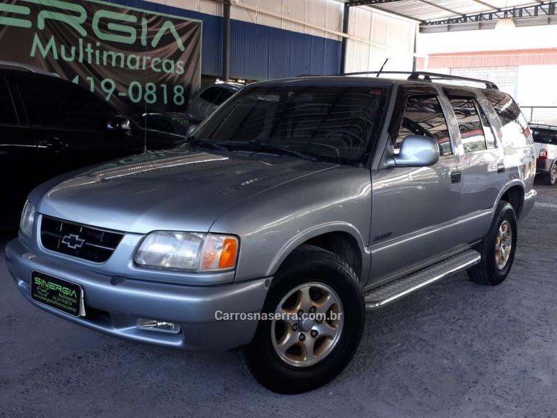 blazer 2.2 efi dlx 4x2 8v gasolina 4p manual 1997 caxias do sul