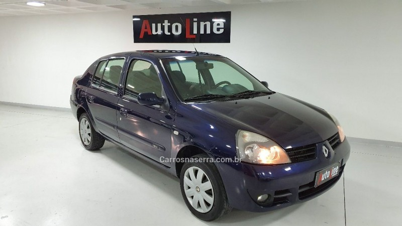 clio 1.0 privilege sedan 16v flex 4p manual 2007 bento goncalves
