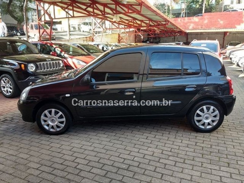 CLIO 1.6 AUTHENTIQUE 16V FLEX 4P MANUAL - 2008 - CAXIAS DO SUL
