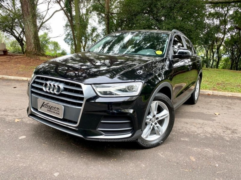 q3 1.4 tfsi attraction gasolina 4p s tronic 2016 dois irmaos
