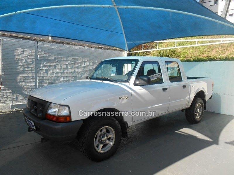 ranger 2.5 xl 4x4 cd 8v turbo intercooler diesel 4p manual 2001 caxias do sul