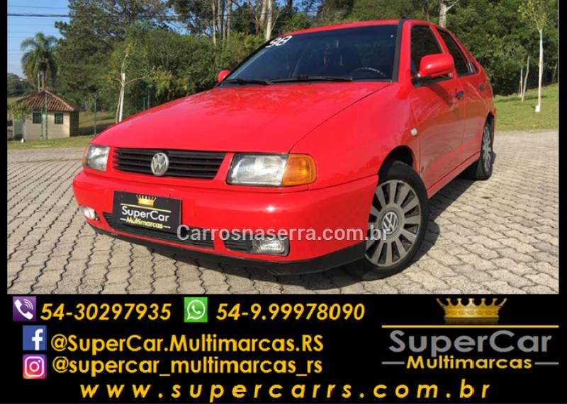 polo 1.8 mi classic sedan 8v gasolina 4p manual 1997 caxias do sul