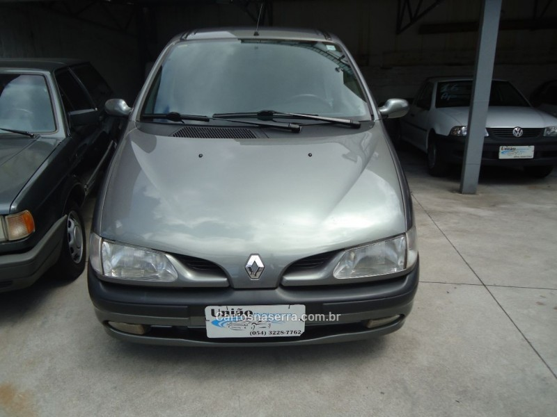 scenic 2.0 rxe 16v gasolina 4p manual 2001 caxias do sul