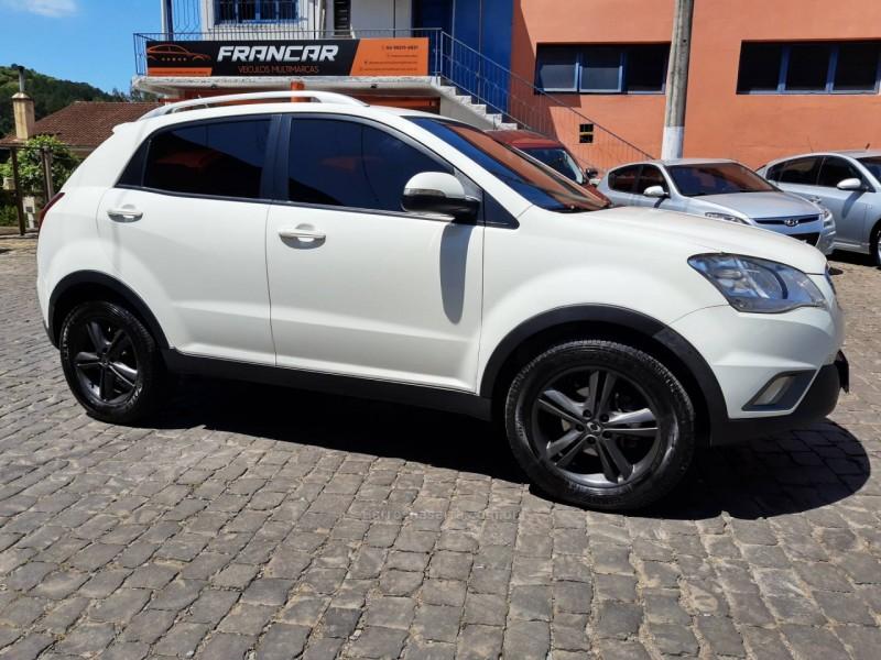 korando 2.0 gls 4x4 16v turbo diesel 4p automatico 2012 antonio prado