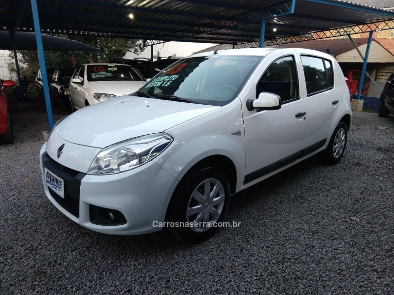 sandero 1.6 expression 8v flex 4p manual 2013 canela