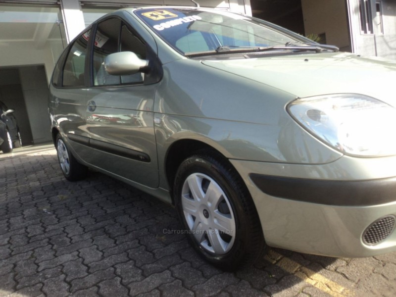 scenic 1.6 expression 16v gasolina 4p manual 2004 caxias do sul