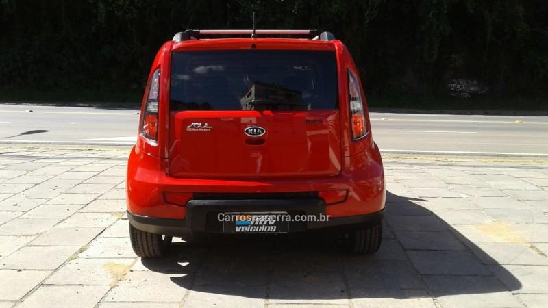 SOUL 1.6 EX 16V GASOLINA 4P MANUAL - 2010 - CAXIAS DO SUL