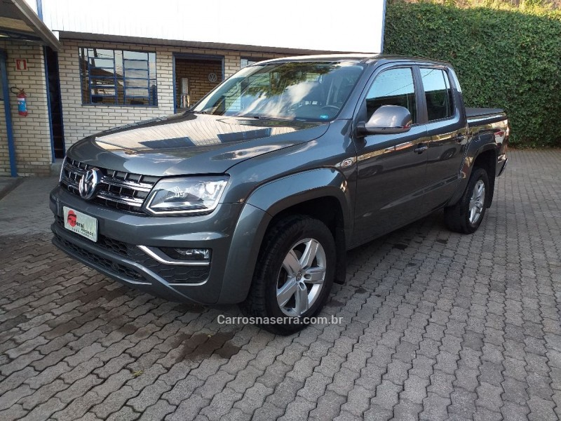 amarok 2.0 highline 4x4 cd 16v turbo intercooler diesel 4p automatico 2017 caxias do sul