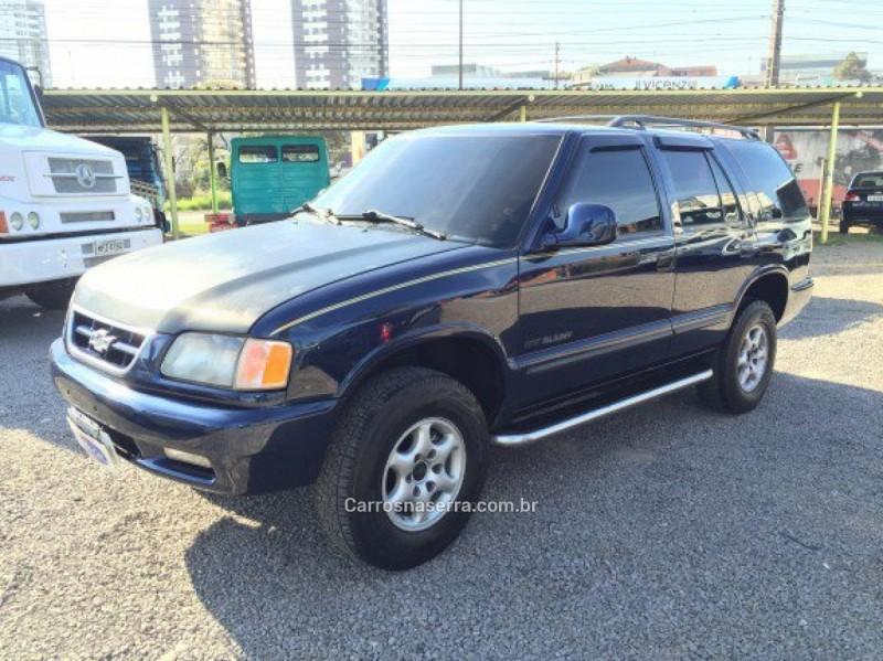 blazer 4.3 sfi dlx 4x2 v6 12v gasolina 4p automatico 1997 caxias do sul