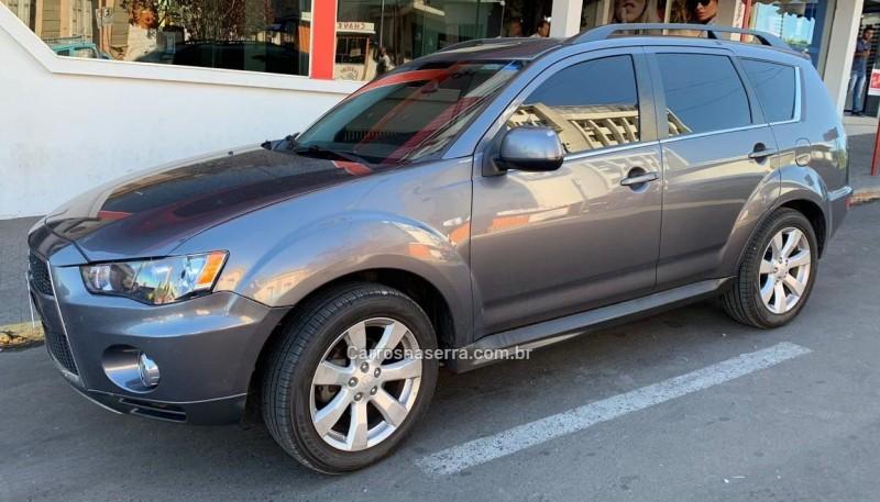 outlander 3.0 gt 4x4 v6 24v gasolina 4p automatico 2012 farroupilha