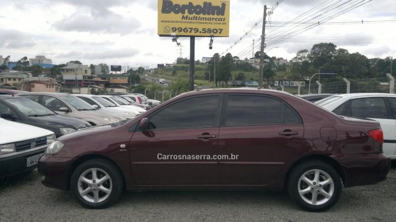 corolla 1.6 xli 16v gasolina 4p automatico 2004 farroupilha