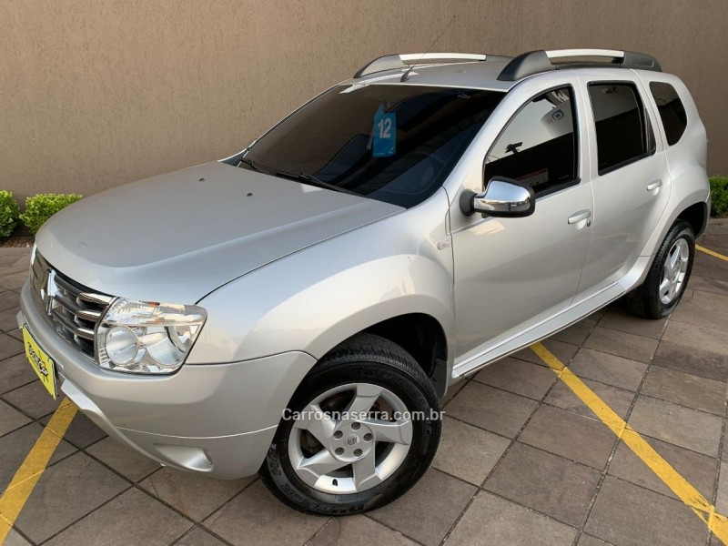 duster 1.6 dynamique 4x2 16v flex 4p manual 2012 caxias do sul