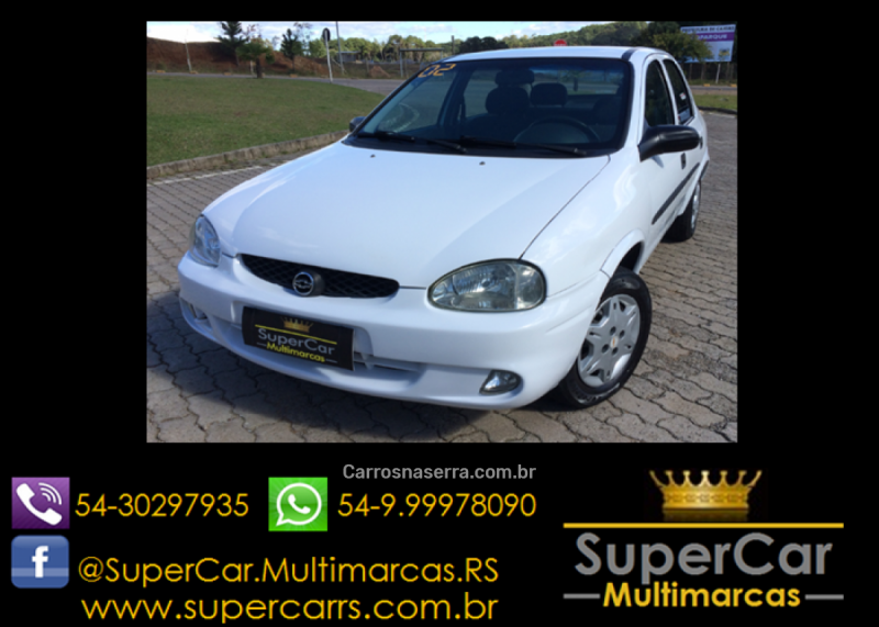 corsa 1.0 mpfi wind sedan 8v gasolina 4p manual 2002 caxias do sul