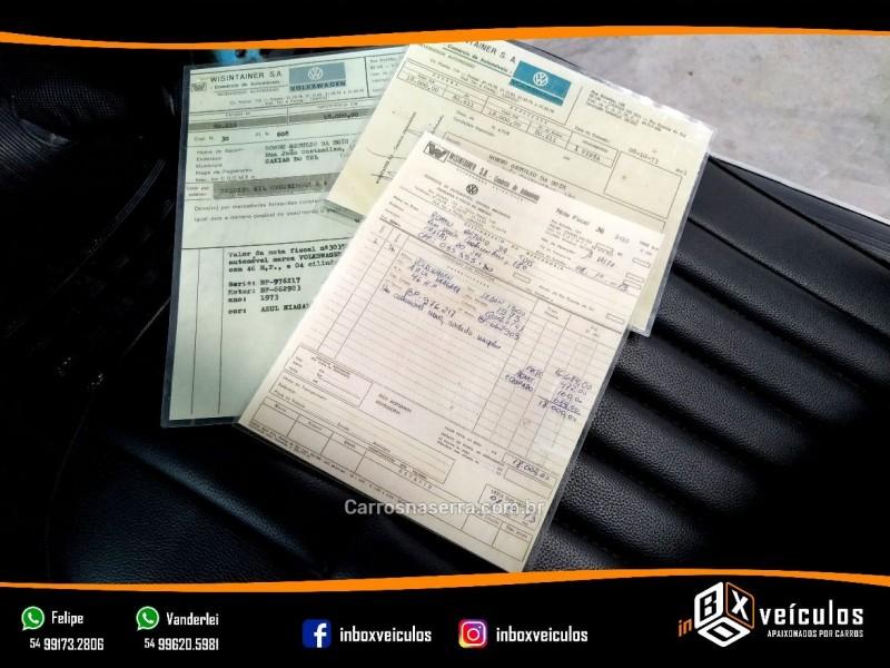 FUSCA 1.3 8V GASOLINA 2P MANUAL - 1973 - GRAMADO