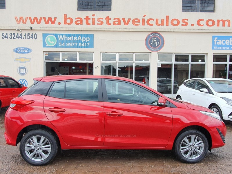 yaris 1.5 xl connect 16v flex 4p automatico 2022 sao francisco de paula