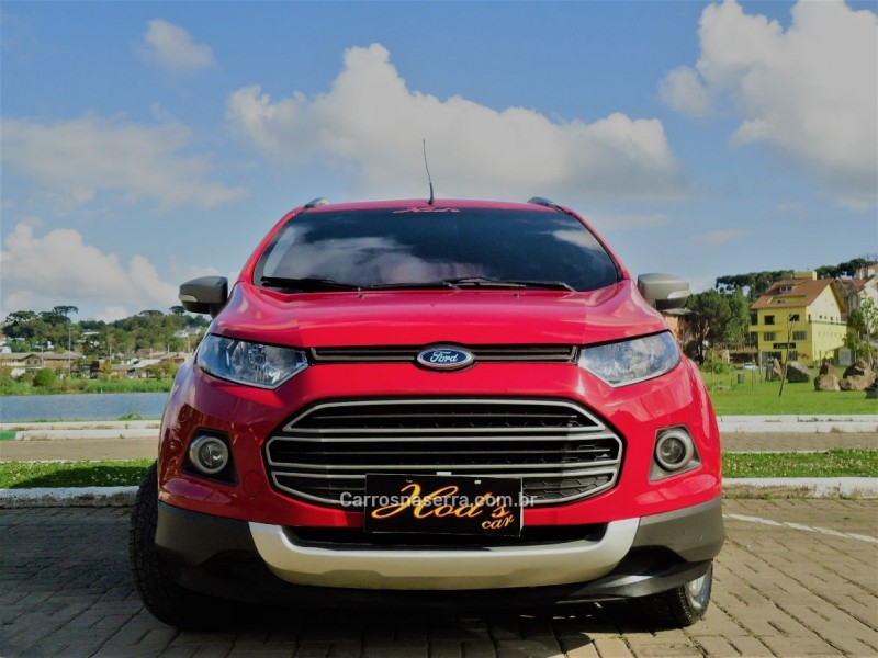 ecosport 1.6 freestyle 8v flex 4p manual 2013 canela