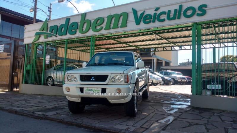 l200 2.5 gls 4x4 cd 8v turbo diesel 4p manual 2003 caxias do sul