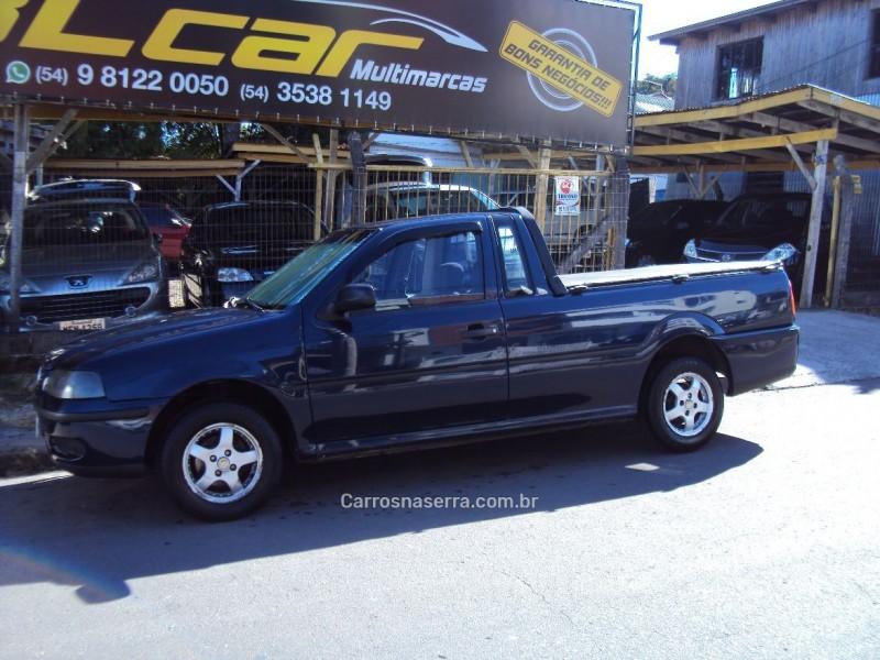 saveiro 1.8 mi plus cs 8v gasolina 2p manual g.iii 2002 caxias do sul