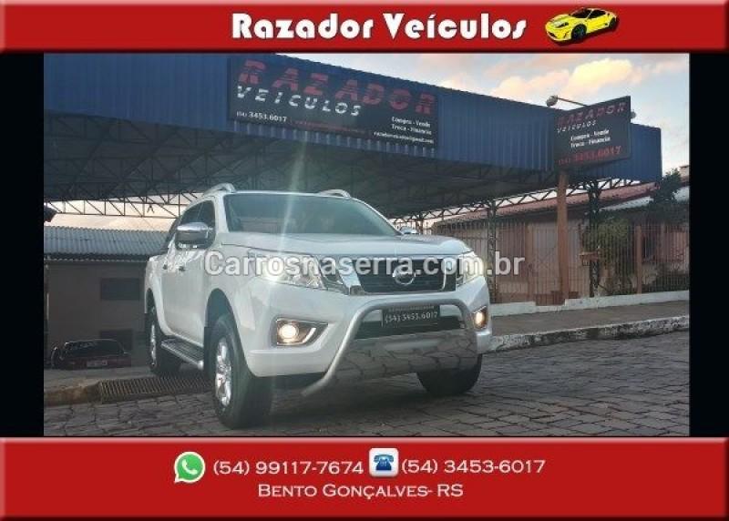 frontier 2.3 le 4x4 cd bi turbo diesel 4p automatico 2017 bento goncalves