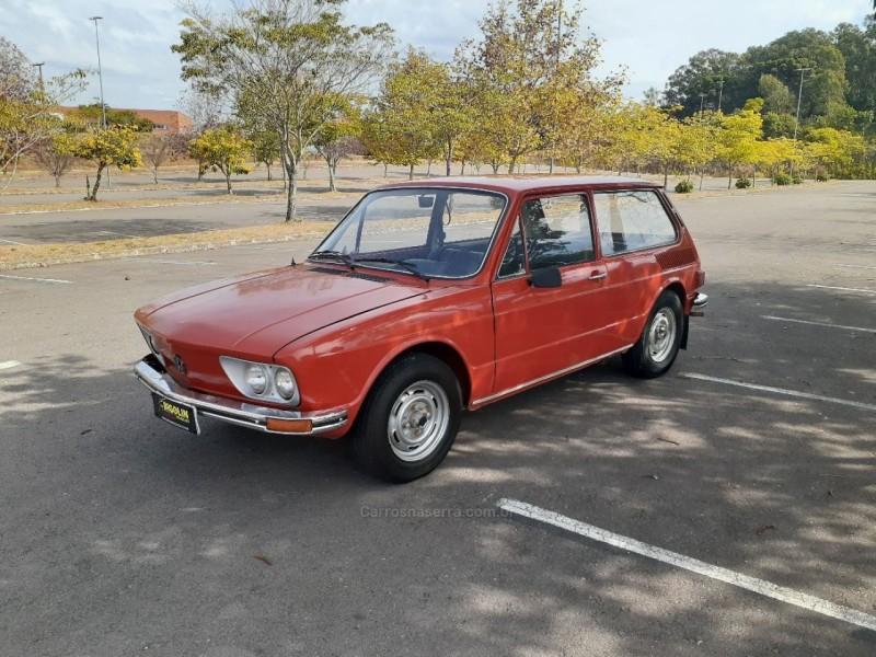brasilia 1.6 8v gasolina 2p manual 1975 bento goncalves