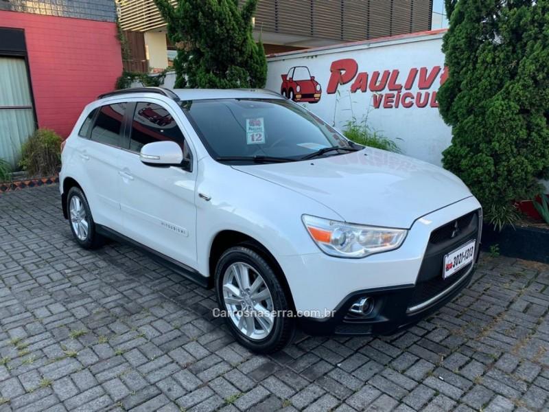 asx 2.0 4x4 16v gasolina 4p automatico 2012 caxias do sul