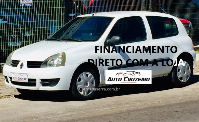 clio 1.0 authentique 8v gasolina 2p manual 2006 caxias do sul