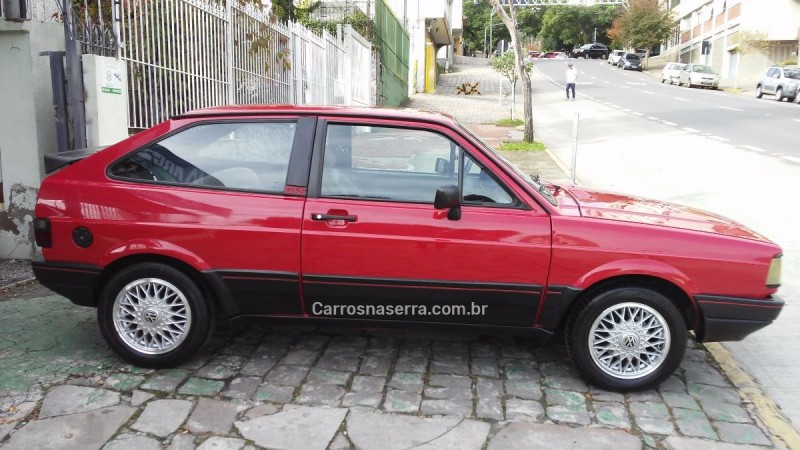 gol 1.8 gts 8v alcool 2p manual 1987 caxias do sul