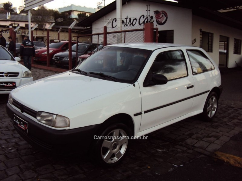 gol 1.6 cl 8v gasolina 2p manual 1997 caxias do sul