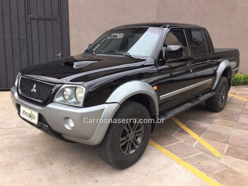 l200 outdoor 2.5 hpe 4x4 cd 8v turbo intercooler diesel 4p manual 2008 caxias do sul