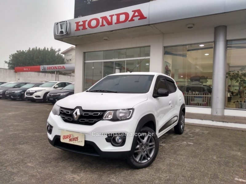 kwid 1.0 12v sce flex intense manual 2018 caxias do sul