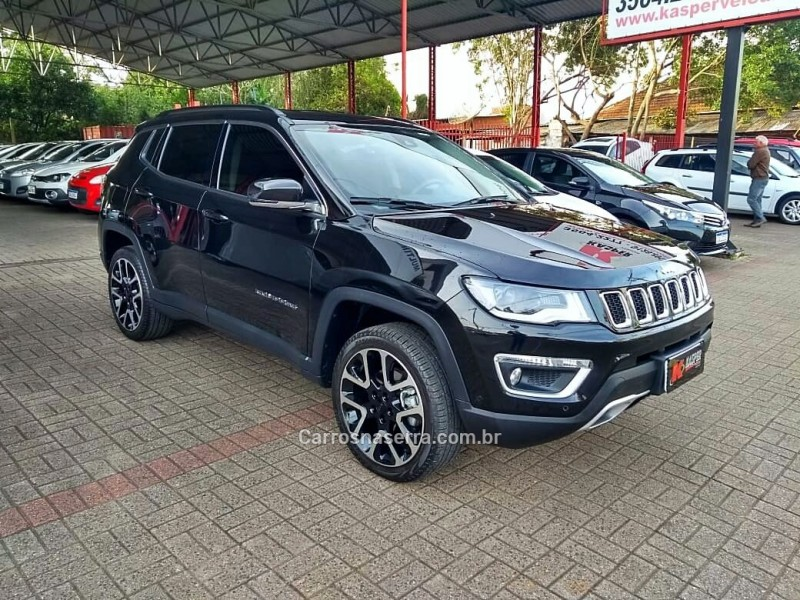 compass 2.0 16v diesel limited 4x4 automatico 2018 dois irmaos