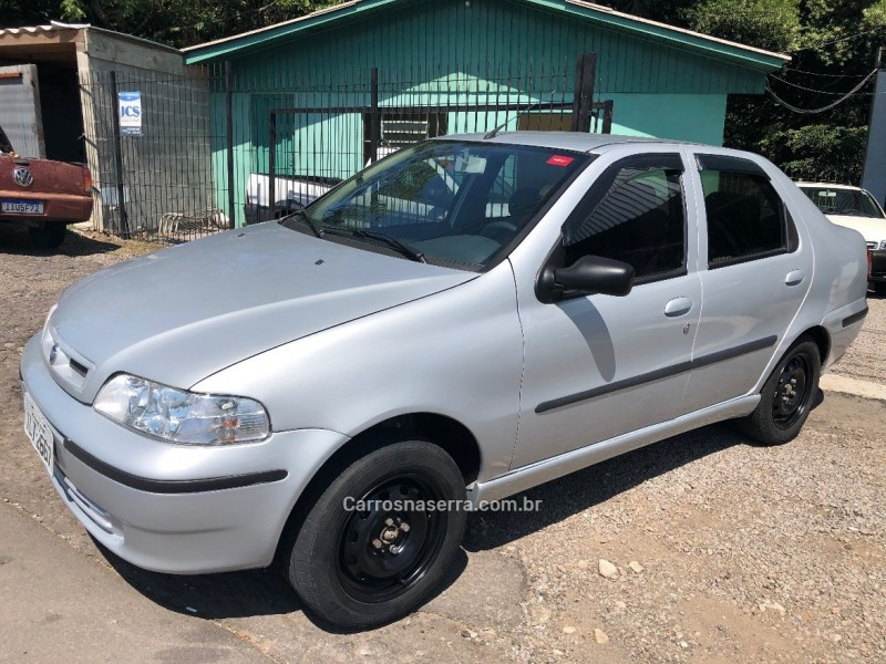siena 1.0 mpi fire 8v gasolina 4p manual 2004 caxias do sul