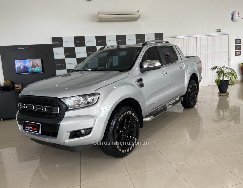 ranger 3.2 limited 4x4 cd 20v diesel 4p automatico 2017 dois irmaos