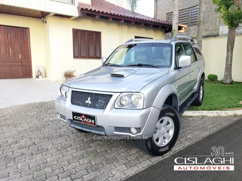 pajero sport 2.5 4x4 8v turbo intercooler diesel 4p manual 2008 carlos barbosa
