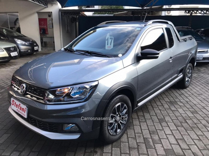 saveiro 1.6 cross ce 8v flex 2p manual 2017 feliz