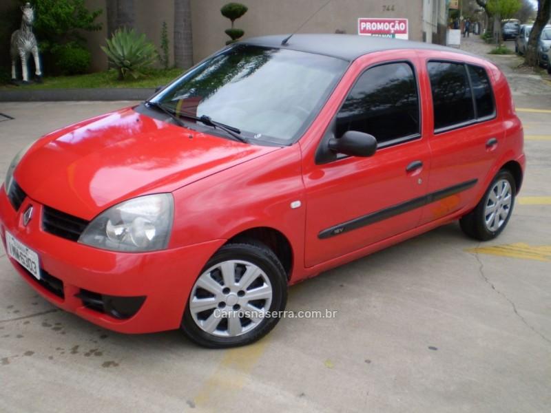 clio 1.0 authentique 8v gasolina 4p manual 2006 caxias do sul