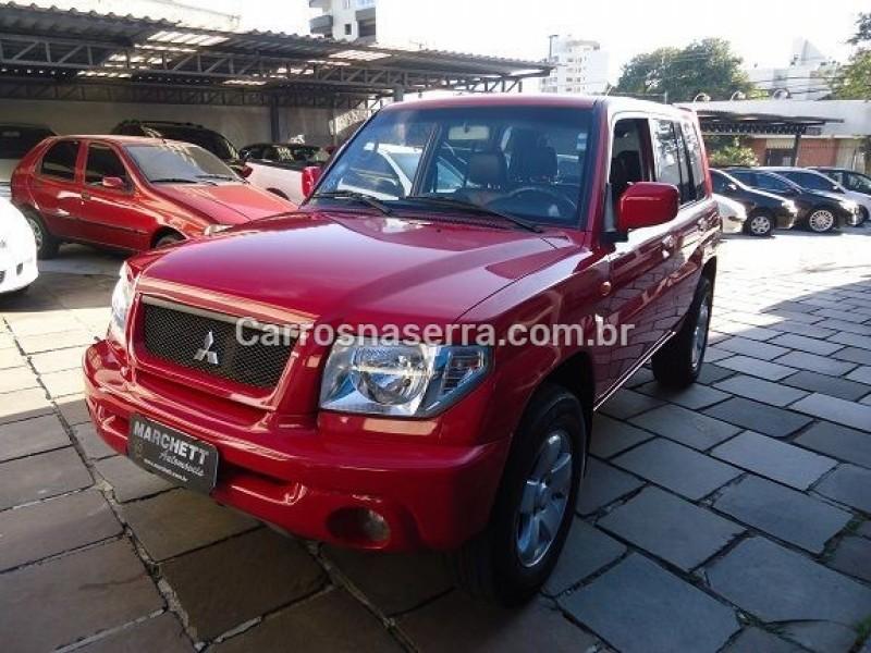 pajero tr4 2.0 4x4 16v 131cv gasolina 4p manual 2005 caxias do sul