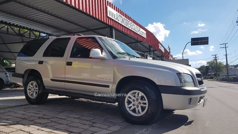 blazer 2.8 dlx 4x4 12v turbo intercooler diesel 4p manual 2001 caxias do sul