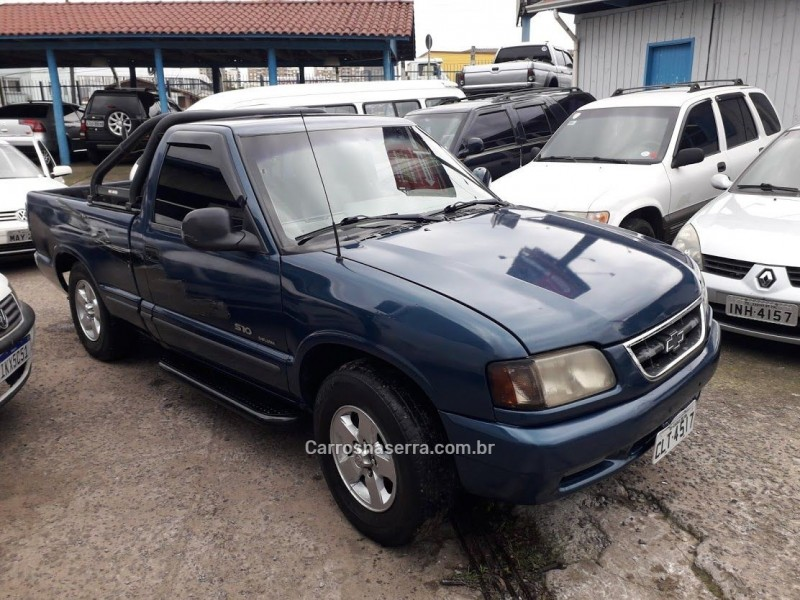 s10 4.3 sfi dlx 4x2 cs v6 12v gasolina 2p manual 1998 caxias do sul