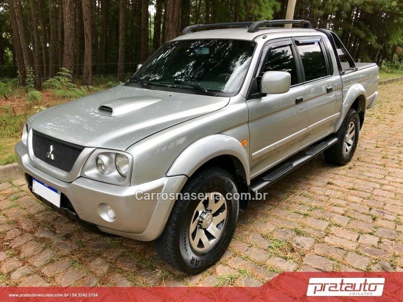 l200 2.5 gls 4x4 cd 8v turbo diesel 4p manual 2005 nova prata