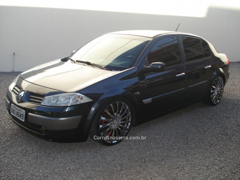 megane 2.0 dynamique sedan 16v gasolina 4p manual 2007 caxias do sul