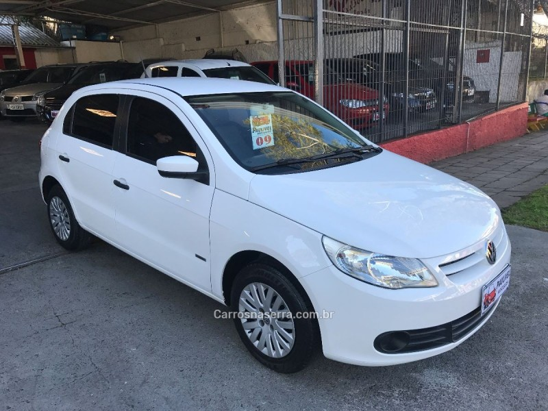 gol 1.0 mi 8v flex 4p manual g.v 2009 caxias do sul