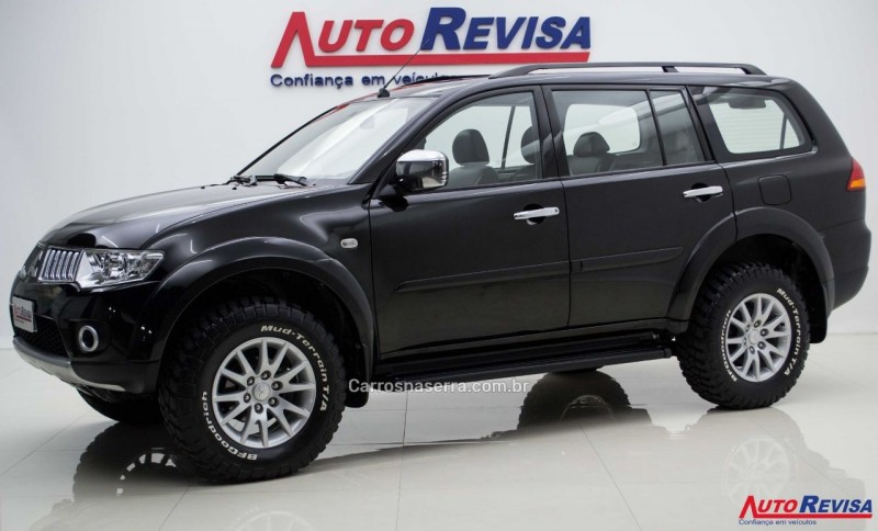pajero dakar 3.2 hpe s 4x4 7 lugares 16v turbo intercooler diesel 4p automatico 2010 bento goncalves