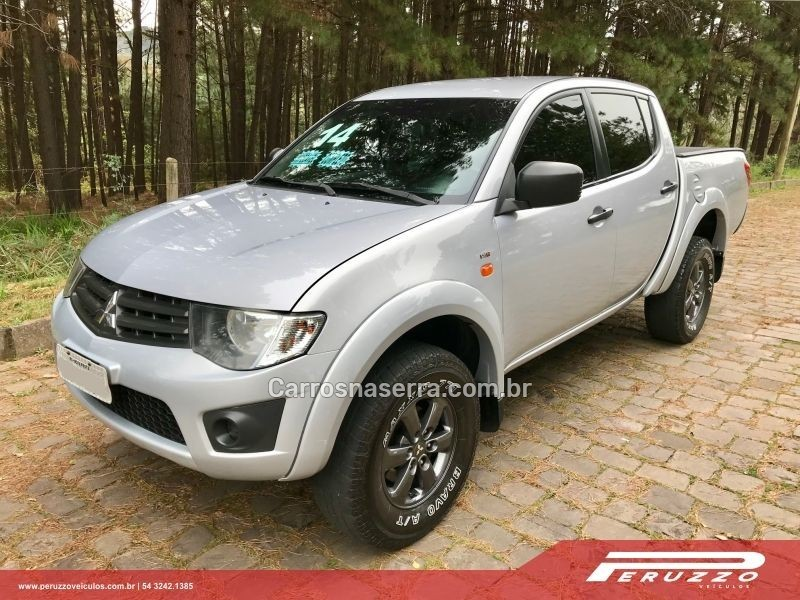 l200 triton 2.4 hls 4x2 cd 16v flex 4p manual 2014 nova prata