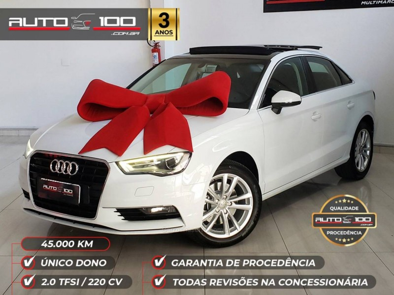 a3 2.0 tfsi sedan ambition 16v gasolina 4p s tronic 2016 caxias do sul