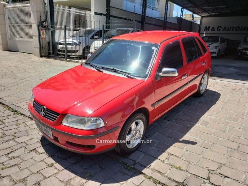 gol 1.0 mi city 8v gasolina 4p manual g.iii 2004 caxias do sul