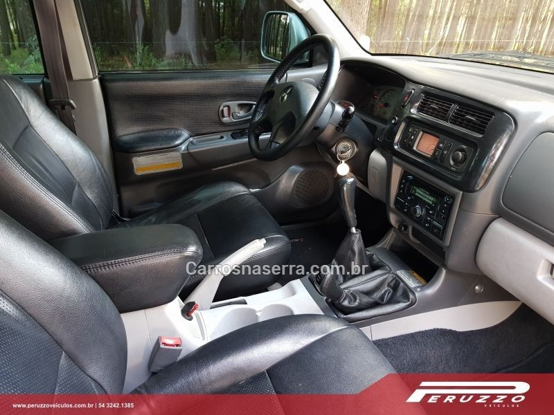 PAJERO SPORT 2.5 4X4 8V TURBO INTERCOOLER DIESEL 4P MANUAL - 2010 - NOVA PRATA