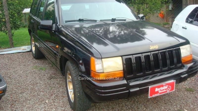 cherokee 3.7 limited 4x4 v6 12v gasolina 4p automatico 1997 farroupilha